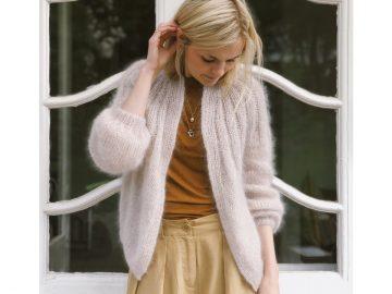 sunday cardigan mohair edition opskrift 33 360x270 - Lækre strikkekits fra PetiteKnit