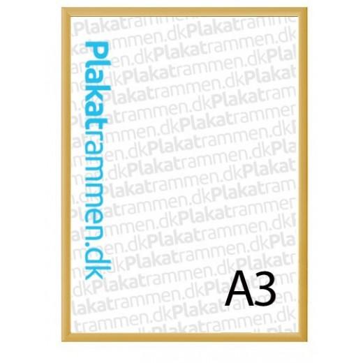 a3 guldramme med 25mm profil 31 - Find den perfekte guldramme til at pifte væggen op
