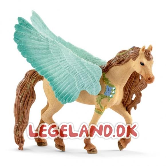 70574 schleich bayala pegasus hingst full - Naturtro og håndmalede figurer til dit barn